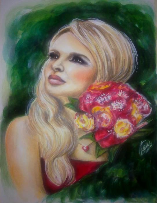 Nadine Coyle by OlgaL